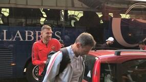 Roma in partenza per Milano: che ovazione per Dzeko!