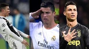 Juventus, Ronaldo e i suoi particolari gesti in campo