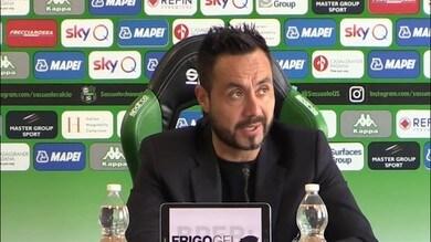 """De Zerbi: """"Contro l'Udinese gara importantissima"""""""