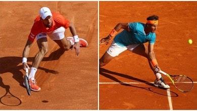 Tennis, Montecarlo: Djokovic eliminato da Medvedev. Nadal, che sofferenza!