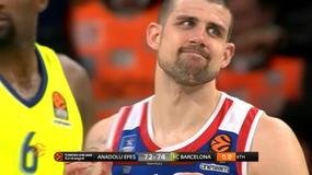 Anadolu Efes-Barcellona 72-74, gli highlights
