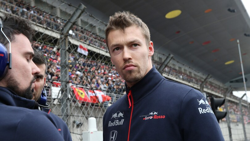 F1 Toro Rosso, Kvyat: «I risultati arriveranno»