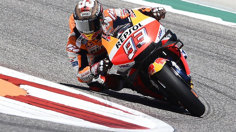 MotoGp Honda, Marquez: «Ora penso a Jerez»