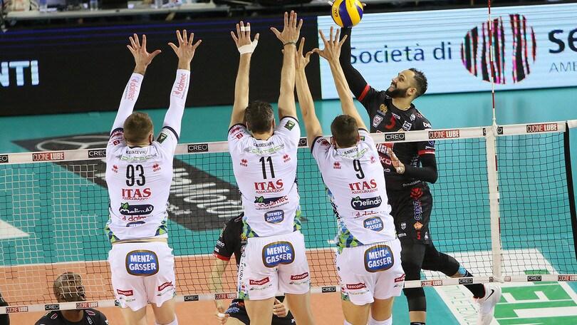 Volley: Superlega, è ancora Civitanova, Serie sul 2-0