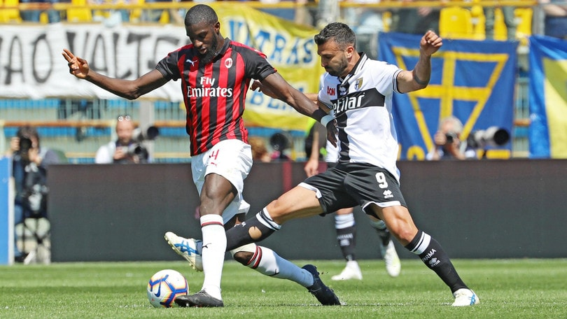Serie A Parma-Milan 1-1, il tabellino