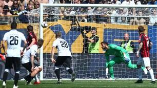 Bruno Alves, che perla! Il Parma gela il Milan