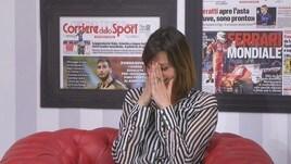 Claudia Pandolfi: «Amo la Roma ma in famiglia è un casino»