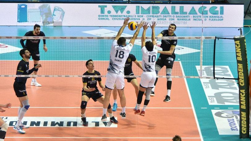 Volley: A2 Maschile, a Pasquetta si gioca Gara 2 delle semifinali