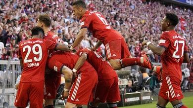 Bundesliga, il Bayern resta in vetta. Goleada dell'Augusta