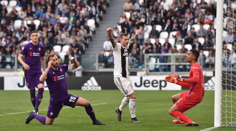 Serie A Juventus-Fiorentina 2-1, il tabellino