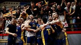 Basket, la Virtus Roma conquista la Serie A