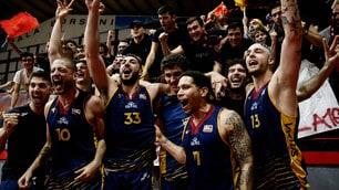 Euforia Roma: la Virtus torna il Serie A