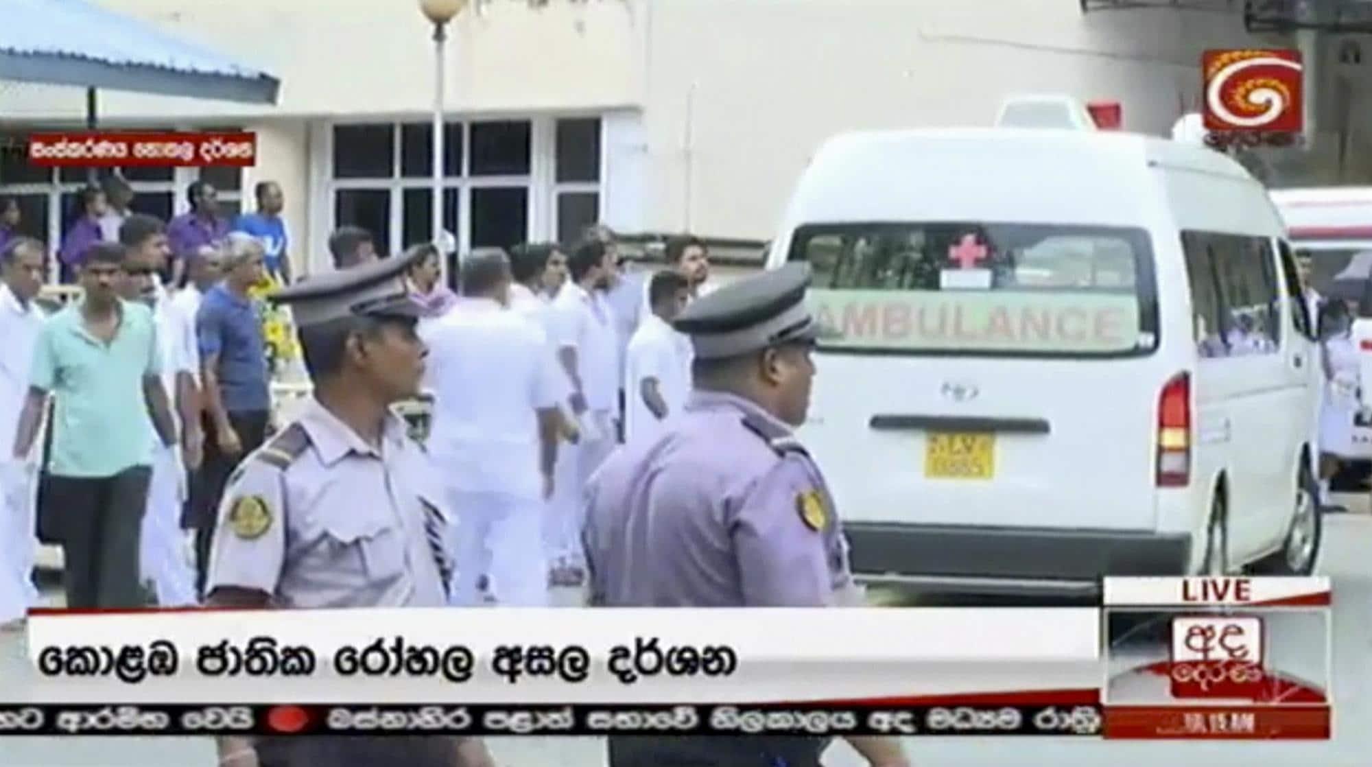 Sri Lanka: esplosioni, almeno 42 morti