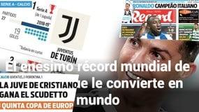 La stampa estera celebra Ronaldo: «Curriculum unico»