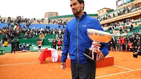Tennis, Fognini: «Vincere a Montecarlo è straordinario»