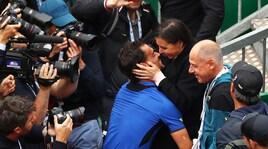 Fognini vince a Montecarlo, baci e abbracci con la Pennetta