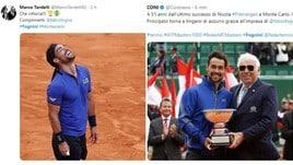 Fognini fa l'impresa a Montecarlo: il mondo dello sport lo celebra