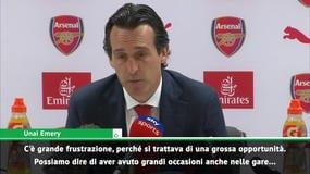 """Emery: """"Persa una grande opportunità. Su Mustafi..."""""""