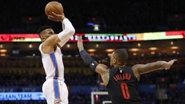 Basket, Nba: Portand e Toronto volano sul 3-1. Gallinari ko