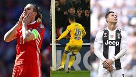 Bale, Ronaldo e Ciano: i peggiori tiratori di punizioni della stagione