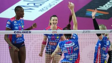 Volley: A1 Femminile, il tie break dice Novara
