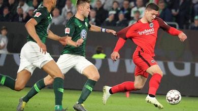 Bundesliga, Brooks risponde a De Guzman: è 1-1 tra Wolfsburg ed Eintracht