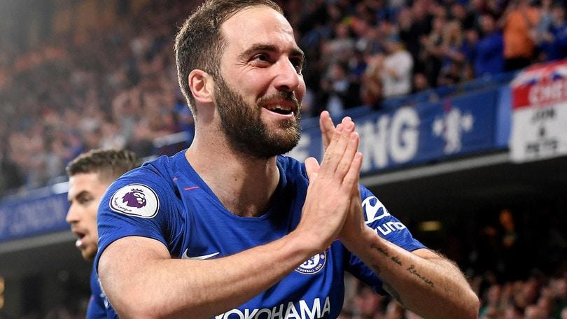 Premier League, Higuain segna ma non basta: Chelsea bloccato dal Burnley