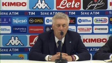 """Ancelotti lapidario: """"Milik è l'attaccante dell'anno prossimo"""""""
