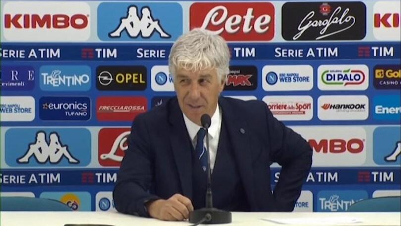 """Gasperini: """"Abbiamo il diritto di credere alla Champions"""""""