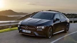 Mercedes CLA Coupé: le prova al volante