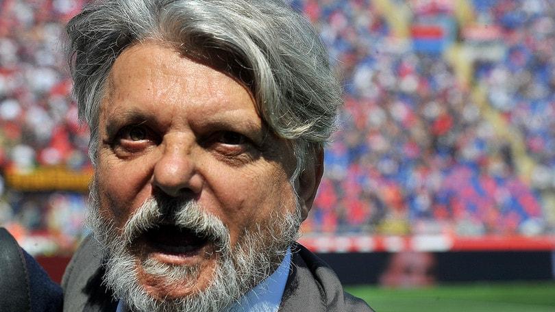 Serie A Sampdoria, Ferrero: «Di Sabatini non voglio parlare»