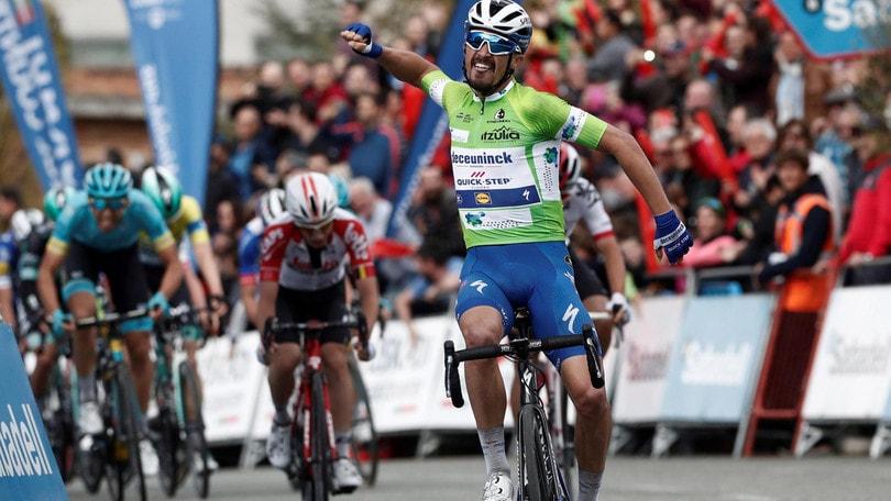 Ciclismo, Freccia Vallone: Alaphilippe da riscatto a 1,75