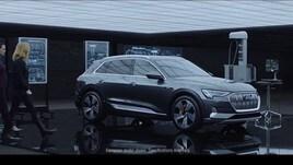 Captain Marvel e lo spot con Audi E-Tron, il video