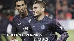 Italiani all'estero, Buffon e Verratti campioni di Francia