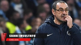 Chelsea, Sarri insultato dalla panchina del Burnley