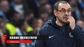 Chelsea, Sarri insultato dalla panchina del Burnley