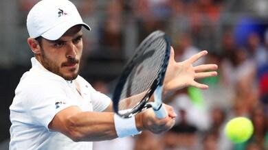 Tennis: Fabbiano eliminato al terzo set a Budapest, Sinner lucky loser