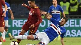 Serie A Sampdoria, out Sala: lavoro individuale precauzionale