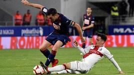 Liga, l'Huesca batte l'Eibar. Il Valladolid supera il Girona