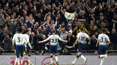 Premier League: Tottenham di misura, pari tra Watford e Saints