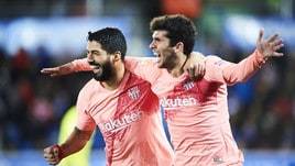 Barcellona, 2-0 all'Alaves e titolo a un passo