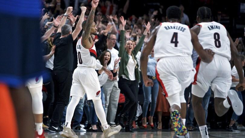 NBA Playoff, Lillard show: OKC eliminata! Passano Toronto e Phila