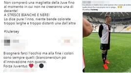 Juventus, la nuova maglia divide il web