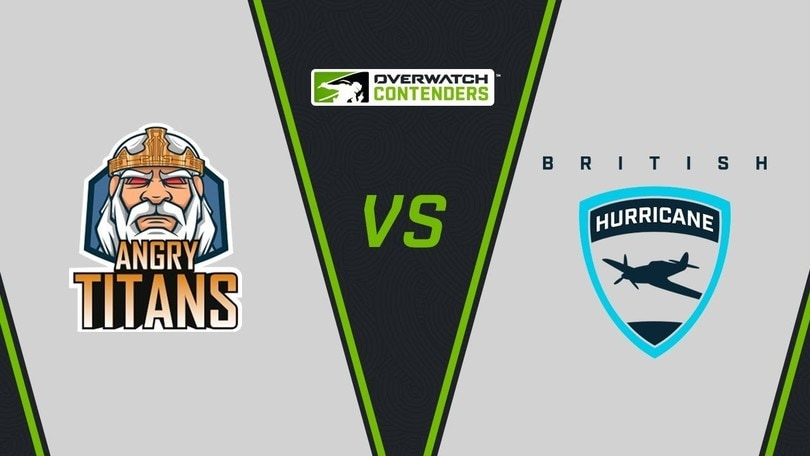 Overwatch Contenders Playoff: Angry Titans e British Hurricane in finale