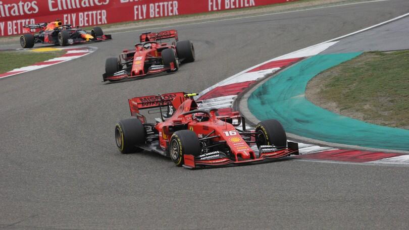 F1, Azerbaigian: dominio Mercedes, Vettel attacca a 3,50