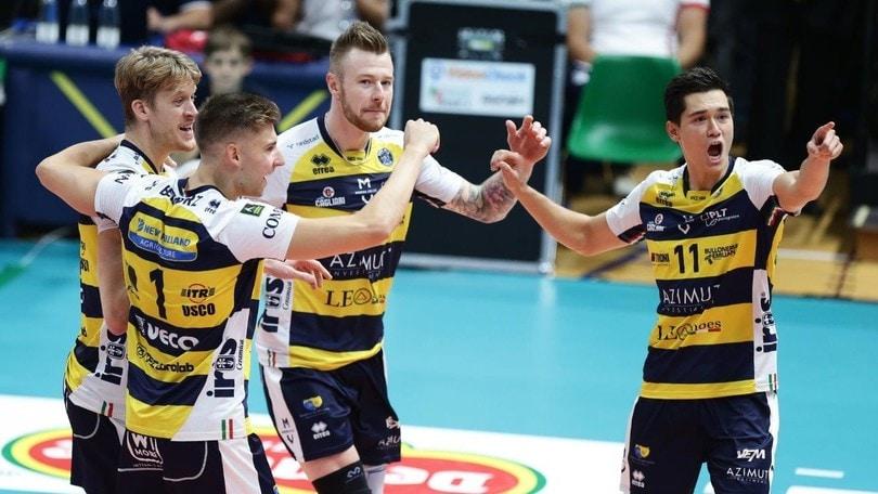 Volley: Superlega, è Gara 4 delle Semifinali dei Play Off Scudetto
