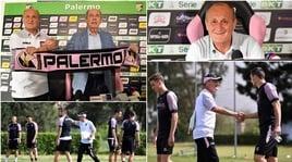 Palermo, presentazione e primo allenamento per Delio Rossi