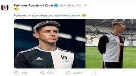 Nuova maglia Juventus, il Fulham: «Per sempre nella nostra ombra»