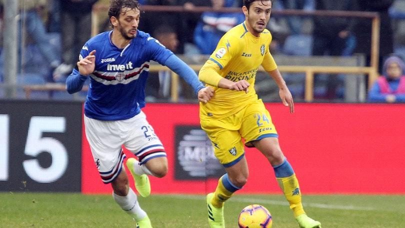 Serie A Frosinone, differenziato per Cassata