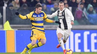 Serie A Parma, contusione alla gamba per Bastoni